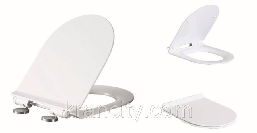 Сиденье для унитаза с крышкой Volle AMADEUS 13-06-035 SLIM