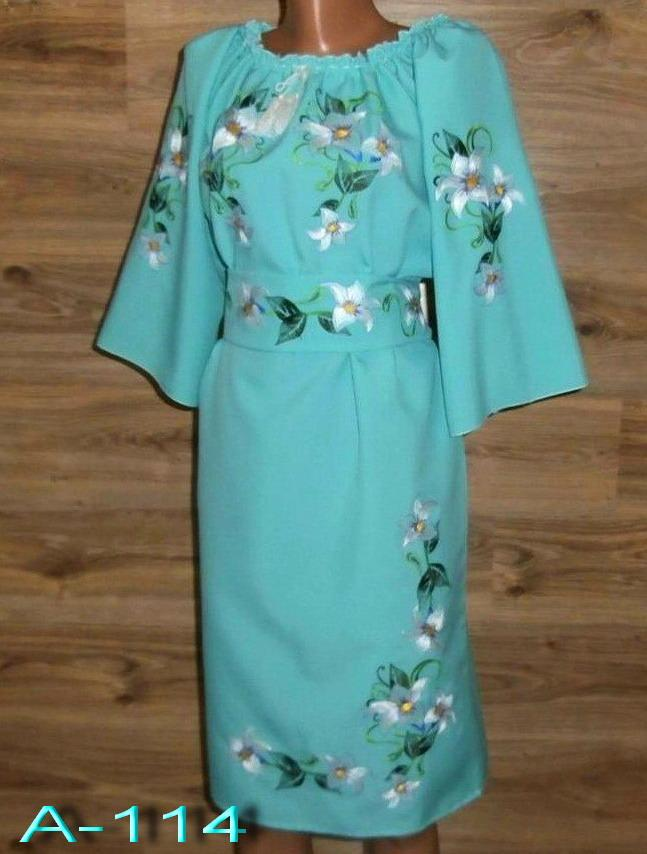 Вышитое лилиями женское платье. Вышиванки женские Изготовление по  индивидуальным обмерам - Интернет-магазин одежды 0d7e9c323eefc