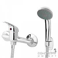 Смесители Deante Смеситель для душа с ручным душем и держателем Deante Palis BJP 041M хром