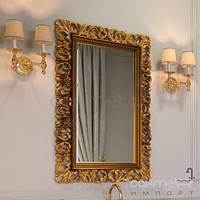 Мебель для ванных комнат и зеркала Marsan Декоративное зеркало для ванной комнаты Marsan Vincent 1000x750 черный глянец