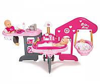 Аксессуары для кукол «Smoby» (220318) игровой центр Baby Nurse Комната малыша, с аксессуарами