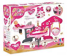 Аксессуары для кукол «Smoby» (220318) игровой центр Baby Nurse Комната малыша, с аксессуарами, фото 2
