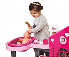 Аксессуары для кукол «Smoby» (220318) игровой центр Baby Nurse Комната малыша, с аксессуарами, фото 3