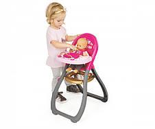 Аксесуари для ляльок Smoby» (220310) стільчик для годування Baby Nurse, фото 3