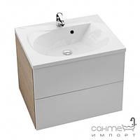 Мебель для ванных комнат и зеркала Ravak Шкафчик под умывальник Ravak Rosa II SD 600 фасад белый/боковые стенки белые X000000924