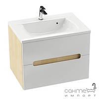 Мебель для ванных комнат и зеркала Ravak Тумба под умывальник Ravak Classic II SD 700 X000000906 фасад белый/боковые стенки белые