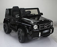 Электромобиль T-7911 Mercedes G63 AMG BLACK джип на р.у. 12V7AH мотор 2*35W с MP3 126.5*73*64.5