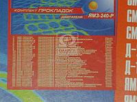 Ремкомплект двигателя ЯМЗ 240 раздаточной головки (полный комплект) (32 наименования) (производитель Украина)