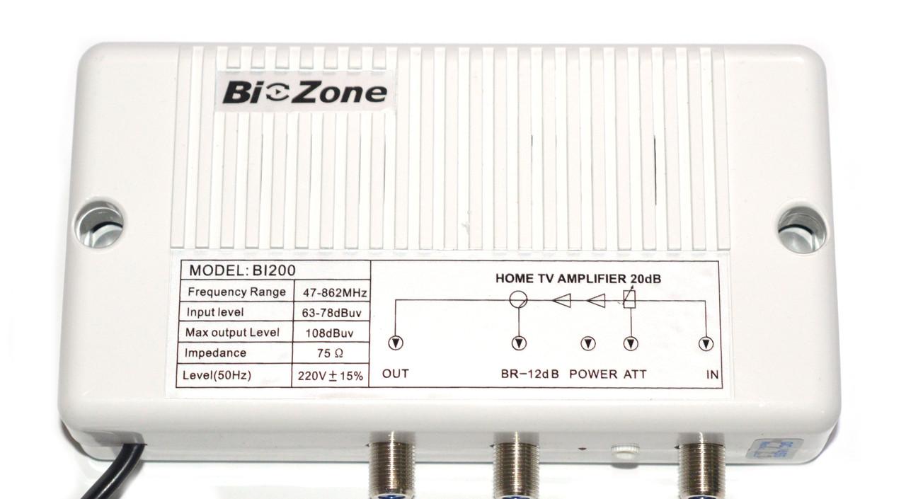 Усилитель TV-сигнала BIZONE BI-200