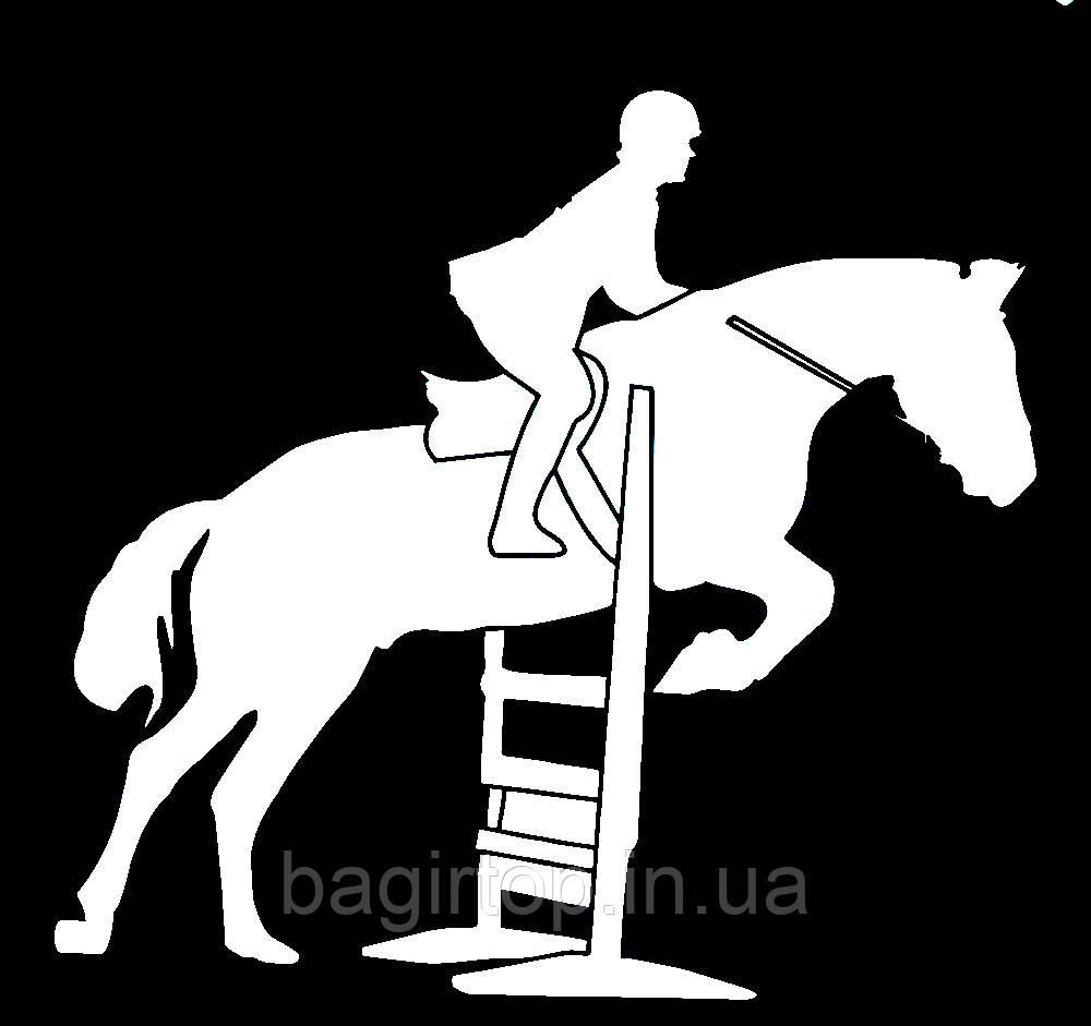 Виниловая наклейка - Конный спорт 4