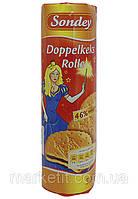 Бисквитное печенье с шоколадом Sondey Doppelkeks Rolle, 500 гр., фото 1