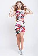 Комплект женский  Moschino блуза-юбка