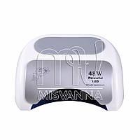 Профессиональная CCFL LED лампа Powerful Magic 48 Вт с таймером 10,30,60 сек. (white)