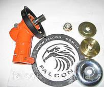 Редуктор для электрокос и триммеров Forte и многих других, 7 шлицов, D = 24 мм