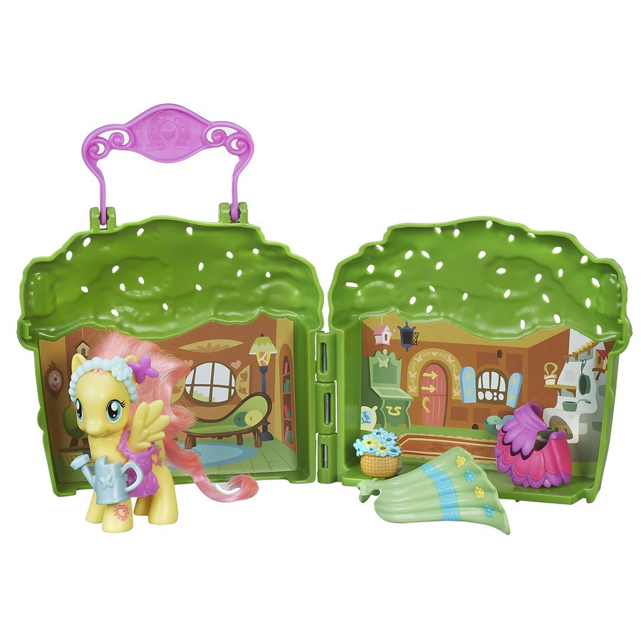 My Little Pony Fluttershy Cottage Playset ( Май Литл Пони набор с пони Флаттершай Мейнхеттен )