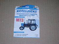 Ремкомплект уплотнений картера маслянного Д 240 (производитель Украина) Р/К-2004