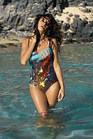 Красивый слитный купальник Tetyana TM Marko (Польша) Коричневый
