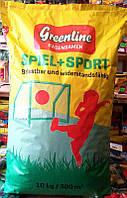 Семена травы для газонов Игровая + Спорт ТМ Greenfield, Германия, 10 кг