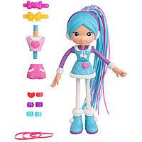 "Betty Spaghetty Бетти Спагетти Бетти в зимней одежде Mix and Match Blue Snow Betty to Pink Ski Betty Doll 6.5"""
