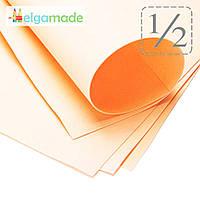 Фоамиран ТУМАННО-РОЗОВЫЙ (бледный), 1/2 листа, 30x70 см, 0.8-1.2 мм, Иран