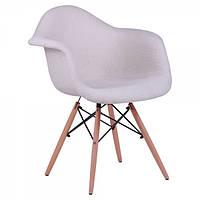 Кресло лофт Salex FB Wood Кремовый