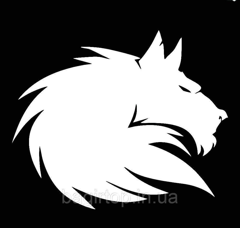 Виниловая наклейка на авто - Волк 13