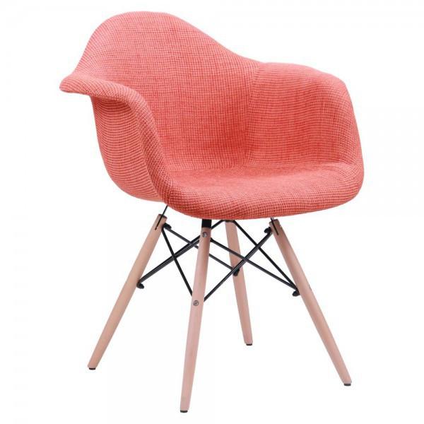 Кресло лофт Salex FB Wood Оранжевый, TM AMF