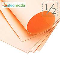 Фоамиран ТУМАННО-РОЗОВЫЙ (все листы в мелкую точку), 1/2 листа, 30x70 см, 0.8-1.2 мм, Иран