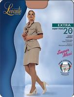 Колготки LEVANTE EXTRA 20 Super Maxi XL (цвет загара, серый, кофейный)