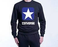Реглан Converse черный (люкс копия)