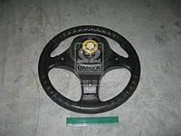 Колесо рулевое ВАЗ 2101-07,2121 Вираж Люкс (3х спицевое ) (производитель Россия) 3703-3402010-20