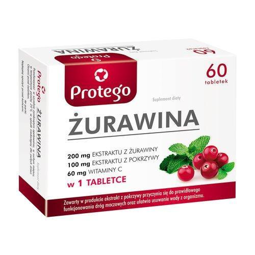 Żurawina Protego (Salvum) 60 caps (екстракт журавлини)