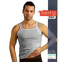 Майка мужская опт и дропшипинг Hertip 3010grey