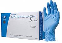 Перчатки нитриловые неопудренные Medicom, размер S, 100 шт/уп.