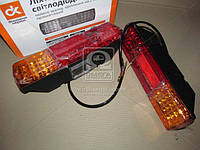 Фонарь КАМАЗ заднего светодиод, правое+ левый ( новый образца.)  5320-3716010/11-33