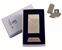 """Спиральная USB-зажигалка """"Абстракция"""" №4798B-1, двухсторонняя спираль, модный гаджет, подарок для друга"""
