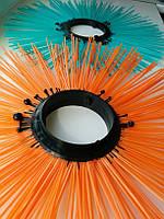 Щетки дисковые 120х550, диск щеточный полипропиленовый, фото 1