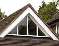Нестандартное треугольное окно Rehau , фото 1