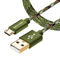 VOXLINK кабель 3 метра USB - micro USB дата-кабель шнур питания ЮСБ шнурок USB-microUSB 3м