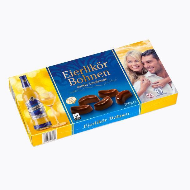 Шоколадные конфеты Eierlikör Bohnen с яичным ликером, 500 гр.