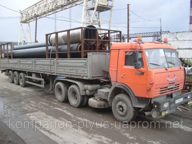 Перевозка труб Перевозки гаражей Перевозка станков и генераторов