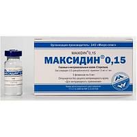 МАКСИДИН капли глазные  0,15%, 5мл (цена за флакон)