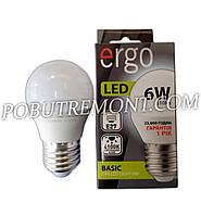 Лампочка LED ergo G45 E27 6W