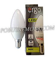 Лампочка LED ergo C37 E14 6W