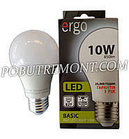 Лампочка LED ergo A60 E27 10W
