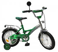 "Велосипед Tilly Explorer 14"" T-21412 Green Silver"