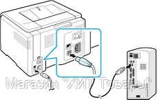 Соединительный кабель для принтера Ocean USB - USB B 3м!Хит, фото 2