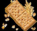 Крекеры салатные Integrale Crackers Италия, 500 г., фото 4