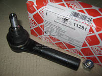 Наконечник тяги рулевая FIAT DUCATO (94-), PEUGEOT BOXER (96-) наружный (производитель Febi) 11281