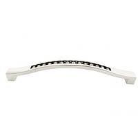 Ручка мебельная со стразами 128 мм (1-203)